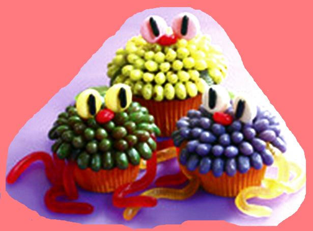 Jelly Belly Beans Cup Cake Treat,Halloween